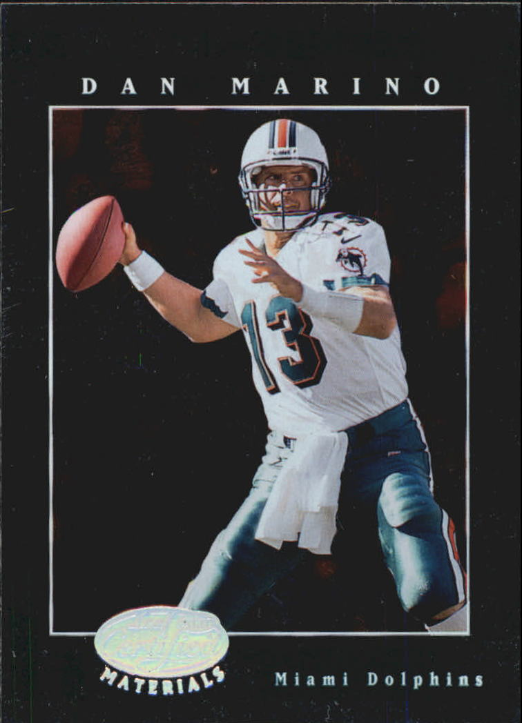 2001 Leaf Certified Materials #19 Dan Marino