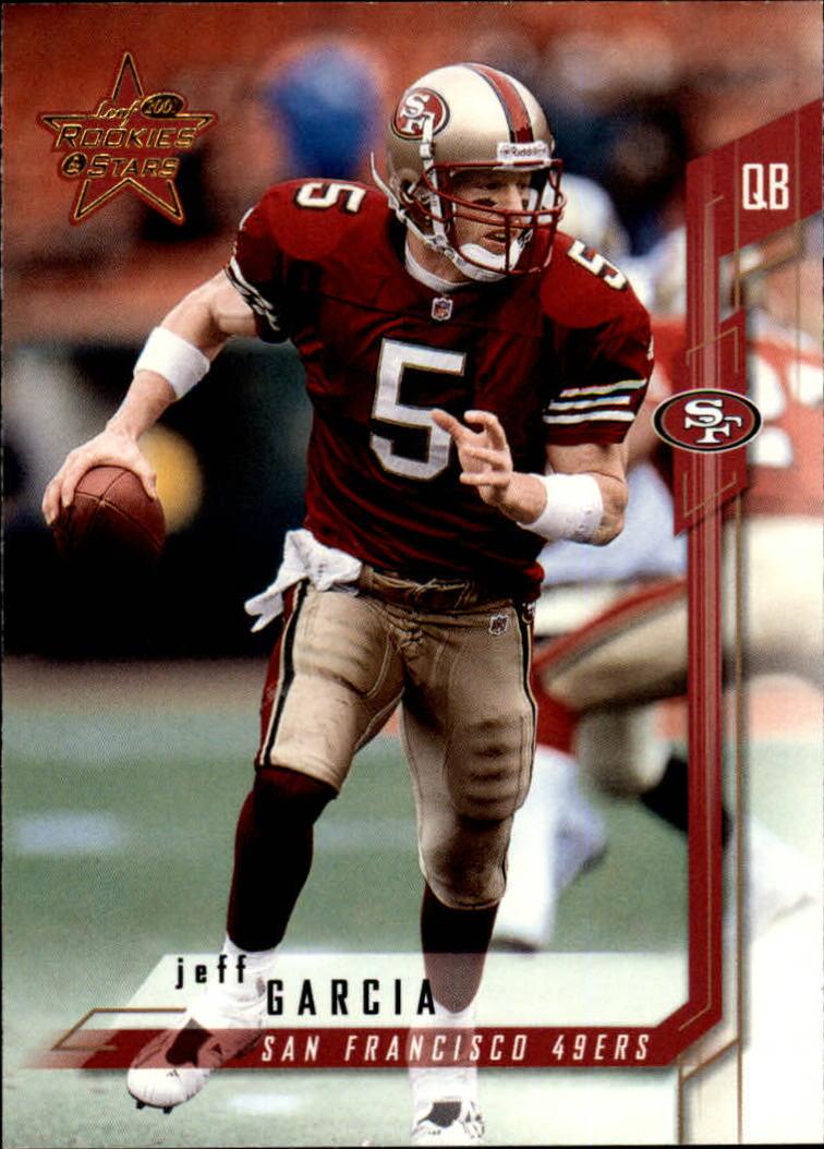 2001 Leaf Rookies and Stars #42 Jeff Garcia