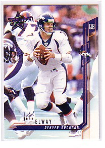 2001 Leaf Rookies and Stars #50 John Elway