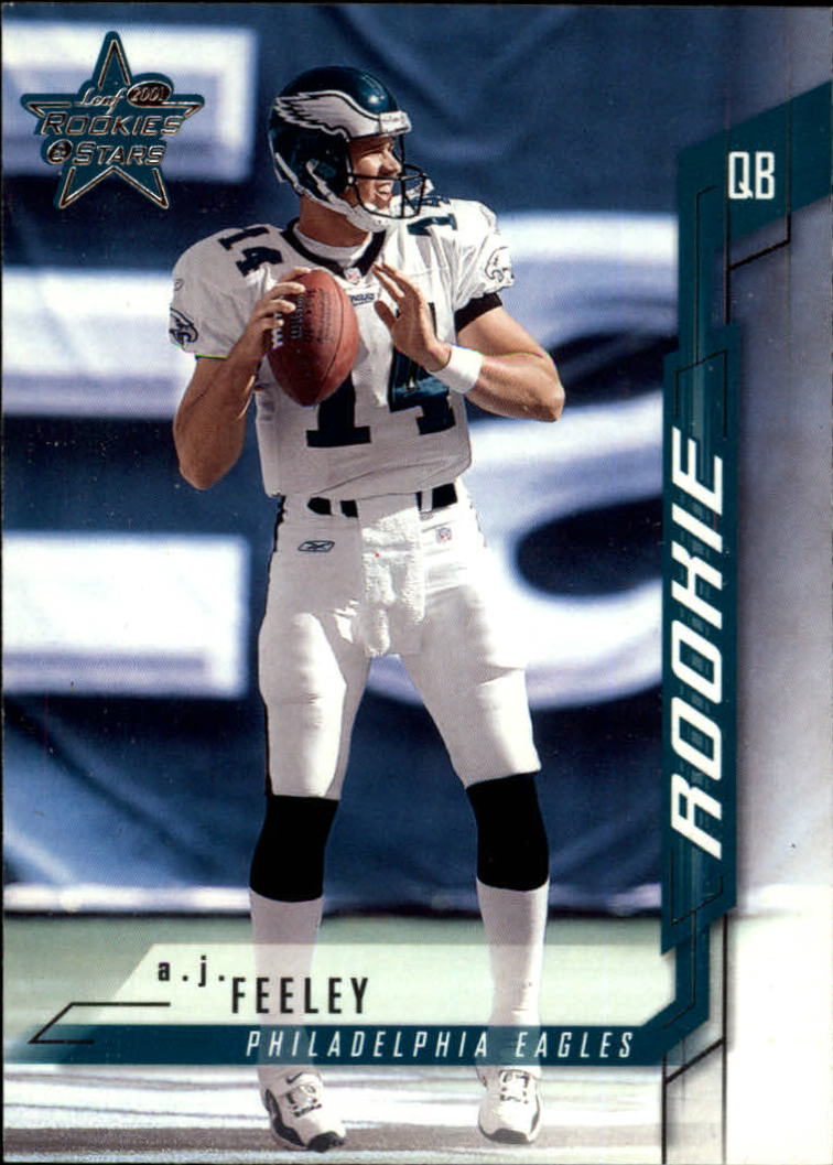 2001 Leaf Rookies and Stars #101 A.J. Feeley RC