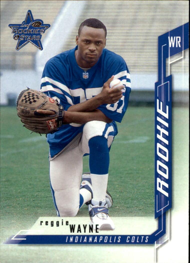 2001 Leaf Rookies and Stars #179 Reggie Wayne RPS