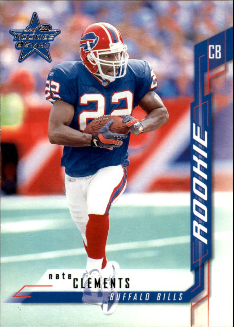 2001 Leaf Rookies and Stars #256 Nate Clements RC