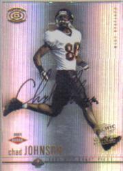 2001 Pacific Dynagon #118 Chad Johnson AU RC