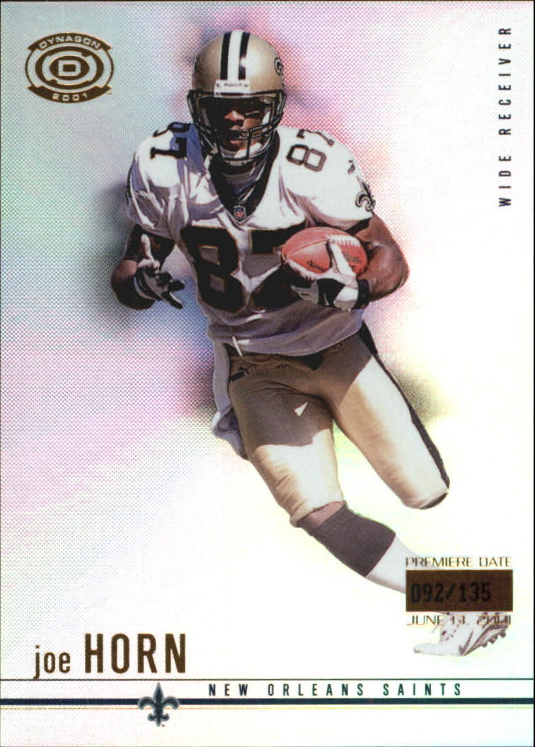 2001 Pacific Dynagon Premiere Date #58 Joe Horn