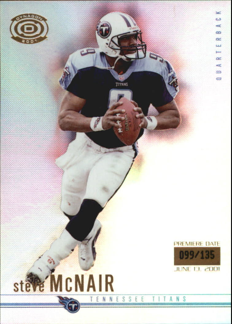 2001 Pacific Dynagon Premiere Date #97 Steve McNair