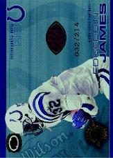 2001 Pacific Dynagon Game Used Footballs #8 Edgerrin James