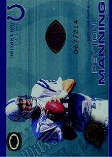 2001 Pacific Dynagon Game Used Footballs #9 Peyton Manning