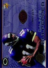 2001 Pacific Dynagon Game Used Footballs #12 Daunte Culpepper