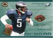 2001 Pacific Dynagon Game Used Footballs #16 Donovan McNabb