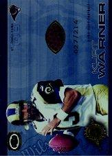 2001 Pacific Dynagon Game Used Footballs #18 Kurt Warner