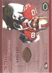 2001 Pacific Dynagon Game Used Footballs #19 Jerry Rice