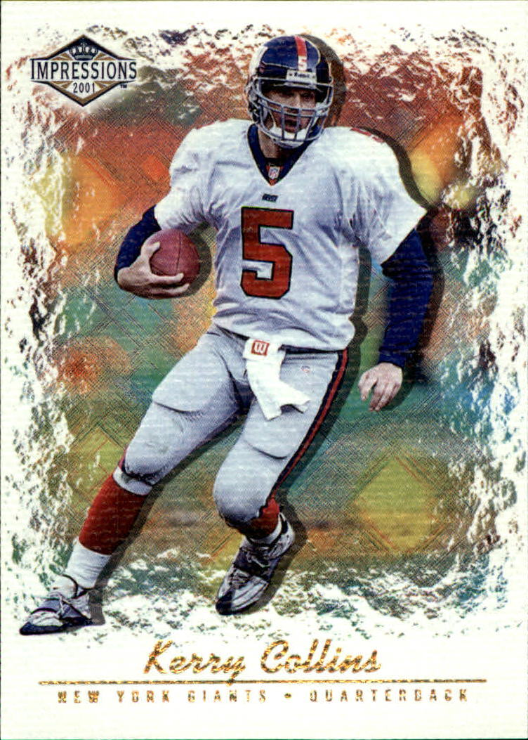 2001 Pacific Impressions #87 Kerry Collins