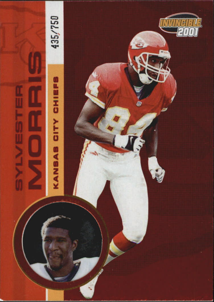 2001 Pacific Invincible Red #118 Sylvester Morris