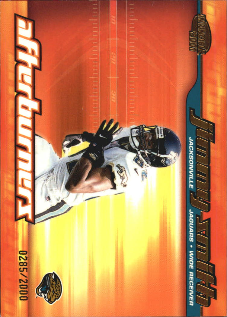 2001 Pacific Invincible Afterburners #8 Jimmy Smith