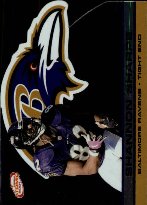 2001 Pacific Prism Atomic #14 Shannon Sharpe