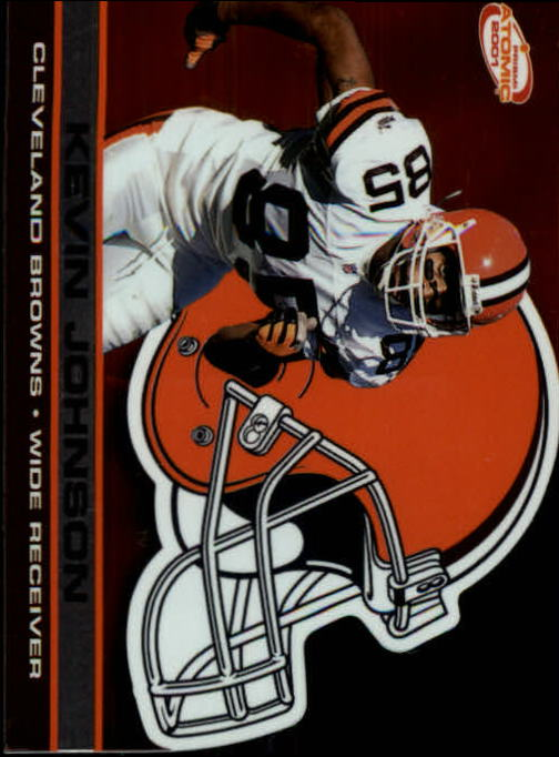 2001 Pacific Prism Atomic #34 Kevin Johnson