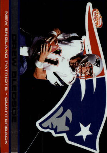 2001 Pacific Prism Atomic #82 Drew Bledsoe