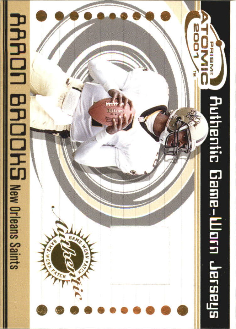 2001 Pacific Prism Atomic Jerseys #48 Aaron Brooks