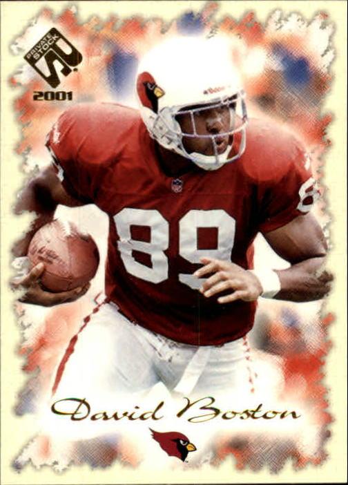 2001 Private Stock #1 David Boston