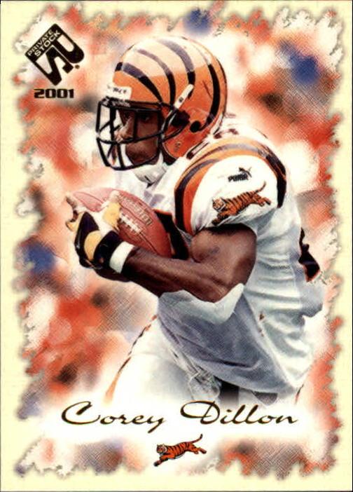 2001 Private Stock #20 Corey Dillon