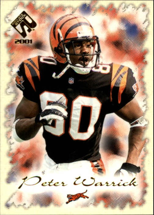 2001 Private Stock #23 Peter Warrick