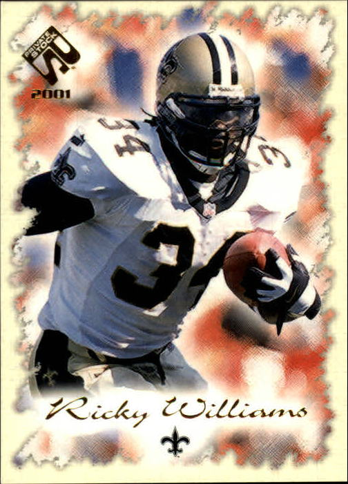 2001 Private Stock #61 Ricky Williams