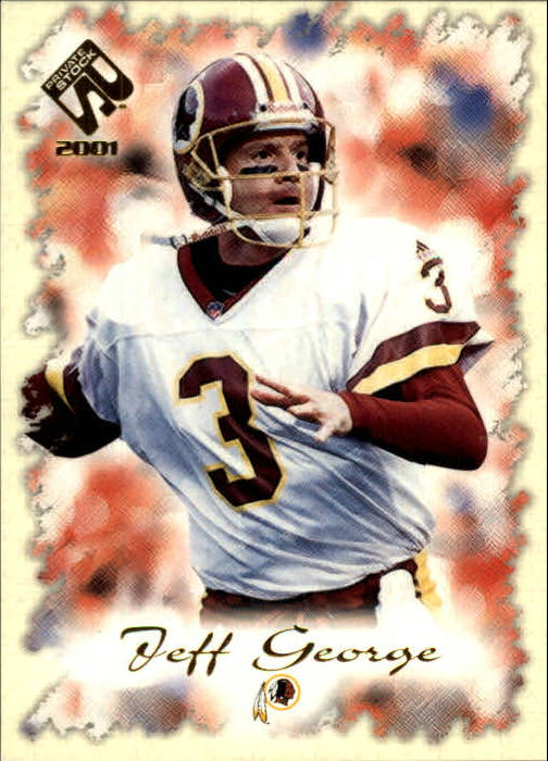 2001 Private Stock #99 Jeff George