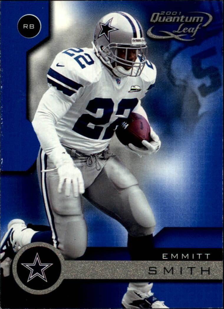 2001 Quantum Leaf #51 Emmitt Smith