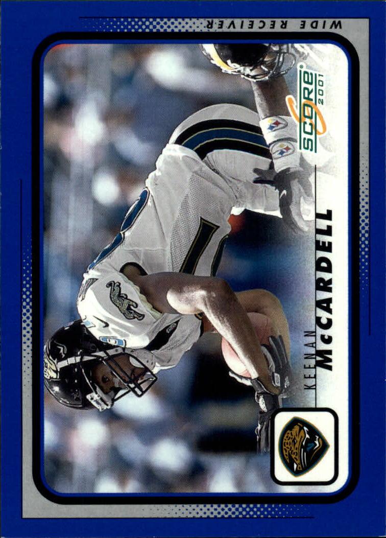 2001 Score #93 Keenan McCardell