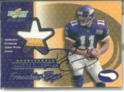 2001 Select Franchise Tags Autographs #FT1 Daunte Culpepper