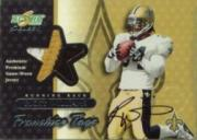 2001 Select Franchise Tags Autographs #FT4 Ricky Williams