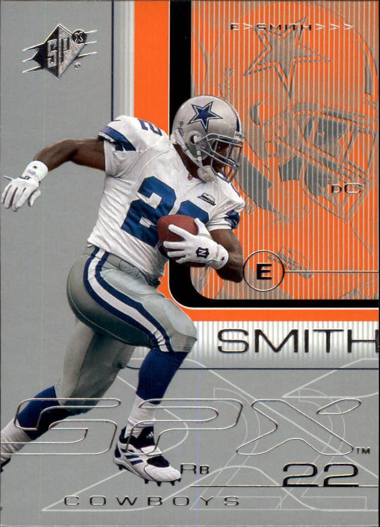 2001 SPx #25 Emmitt Smith
