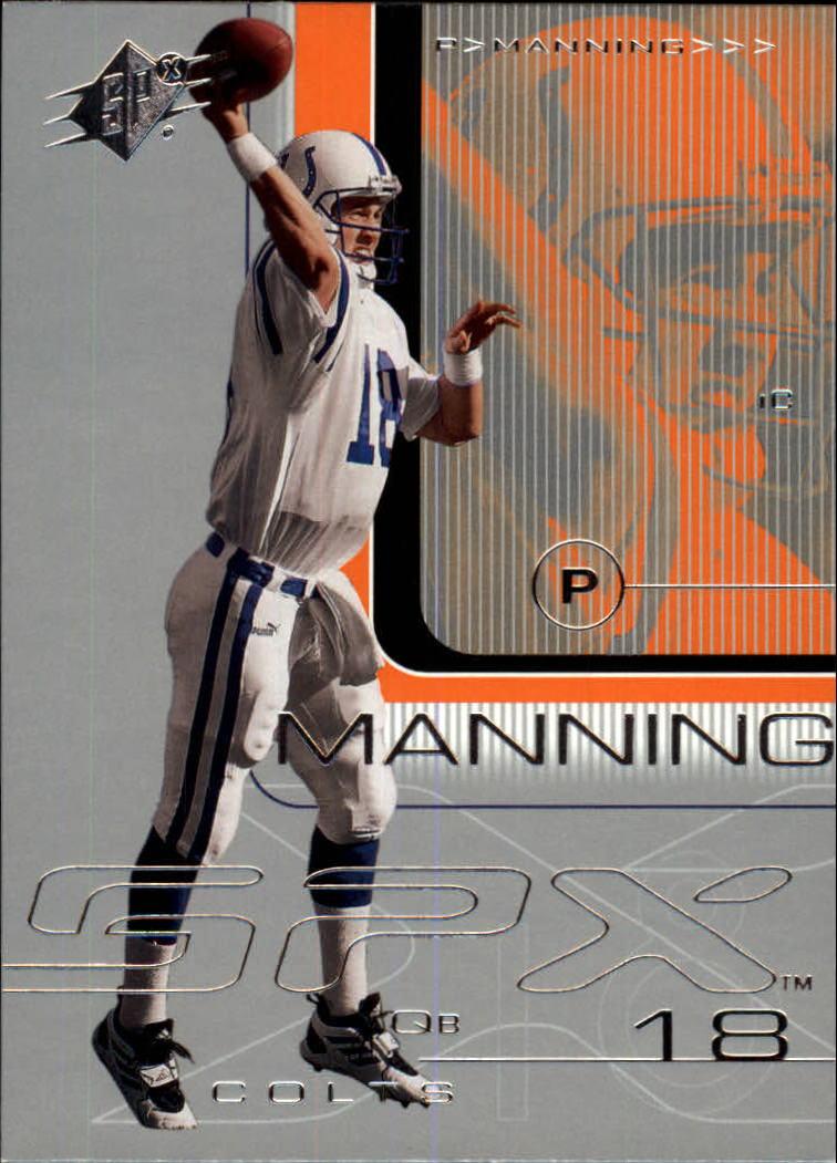 2001 SPx #37 Peyton Manning