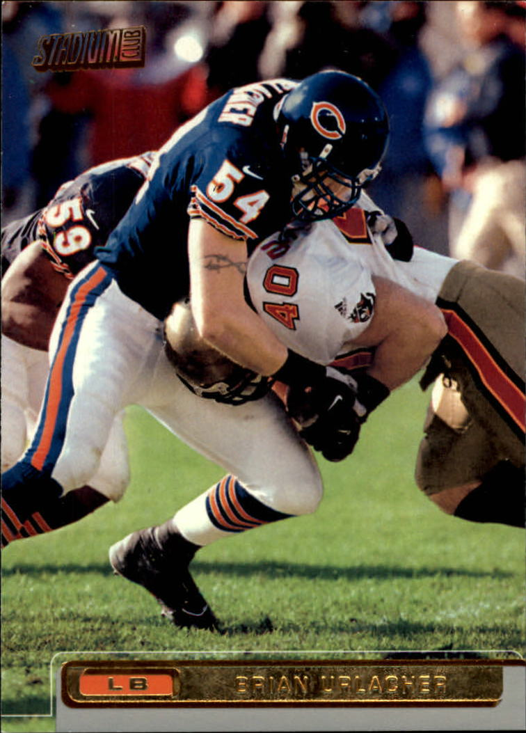 2001 Stadium Club #120 Brian Urlacher