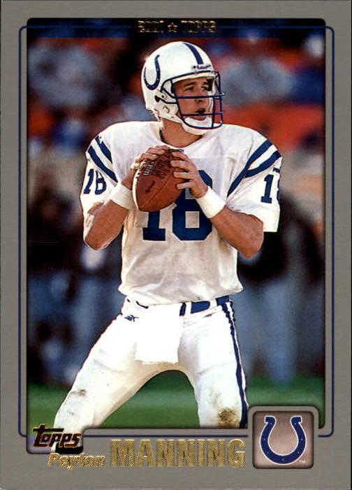2001 Topps #136 Peyton Manning