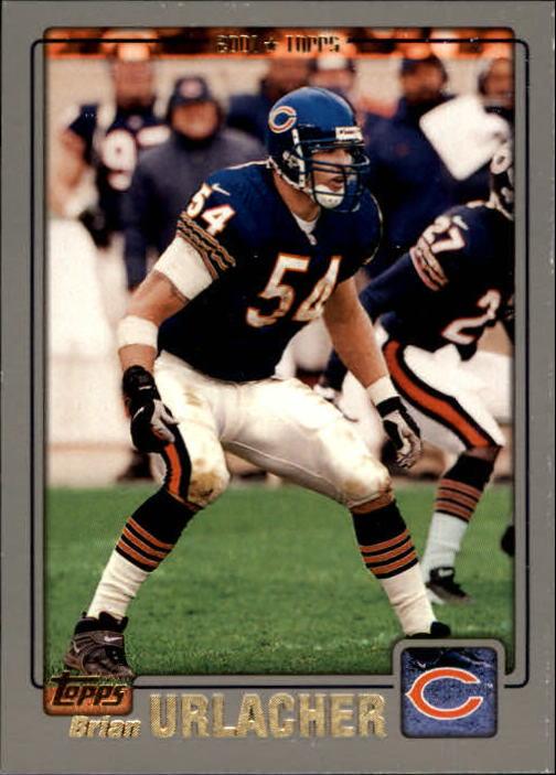 2001 Topps #150 Brian Urlacher