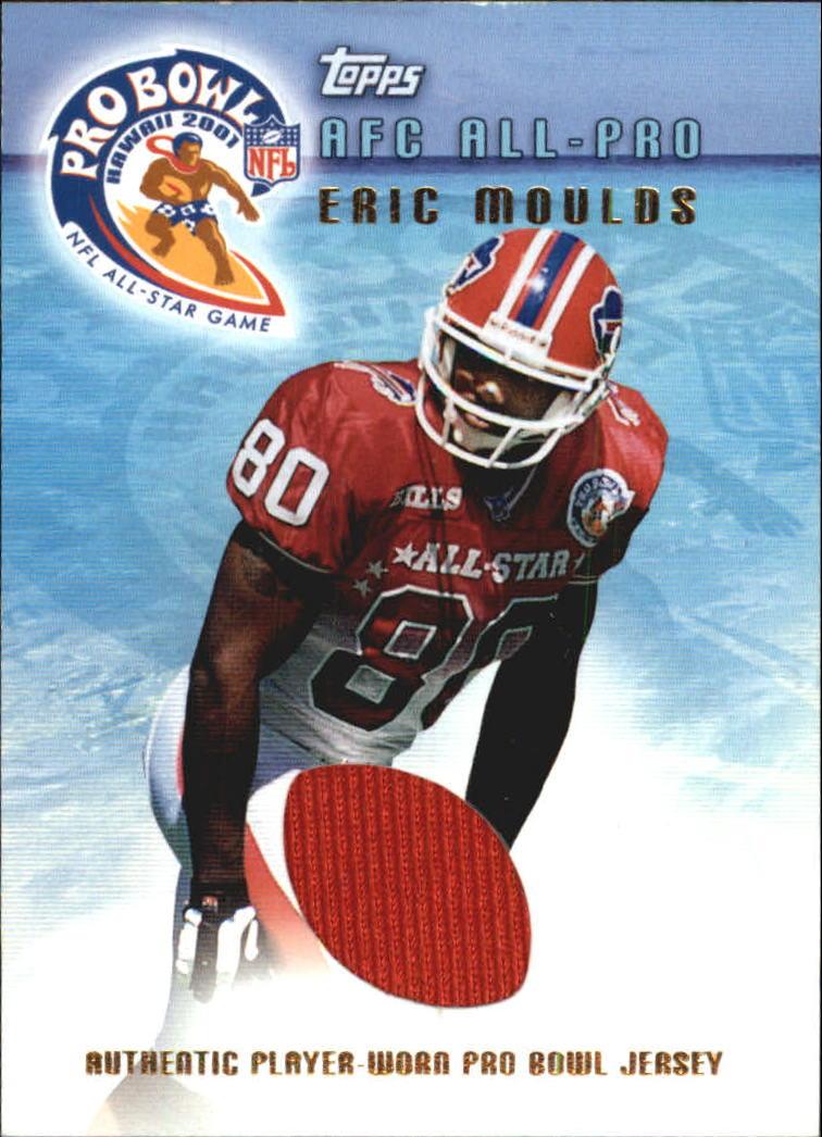 2001 Topps Pro Bowl Jerseys  TPEM Eric Moulds f1c9132d0