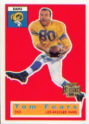 2001 Topps Archives #78 Tom Fears 56