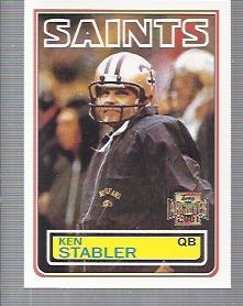 2001 Topps Archives #144 Ken Stabler 83