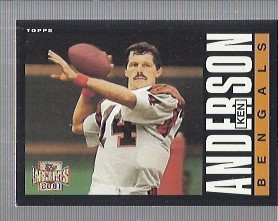 2001 Topps Archives #153 Ken Anderson 85