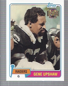 2001 Topps Archives #177 Gene Upshaw 81