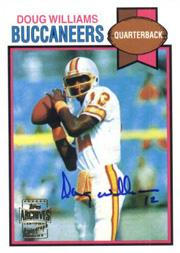 2001 Topps Archives Rookie Reprint Autographs #AADW Doug Williams I