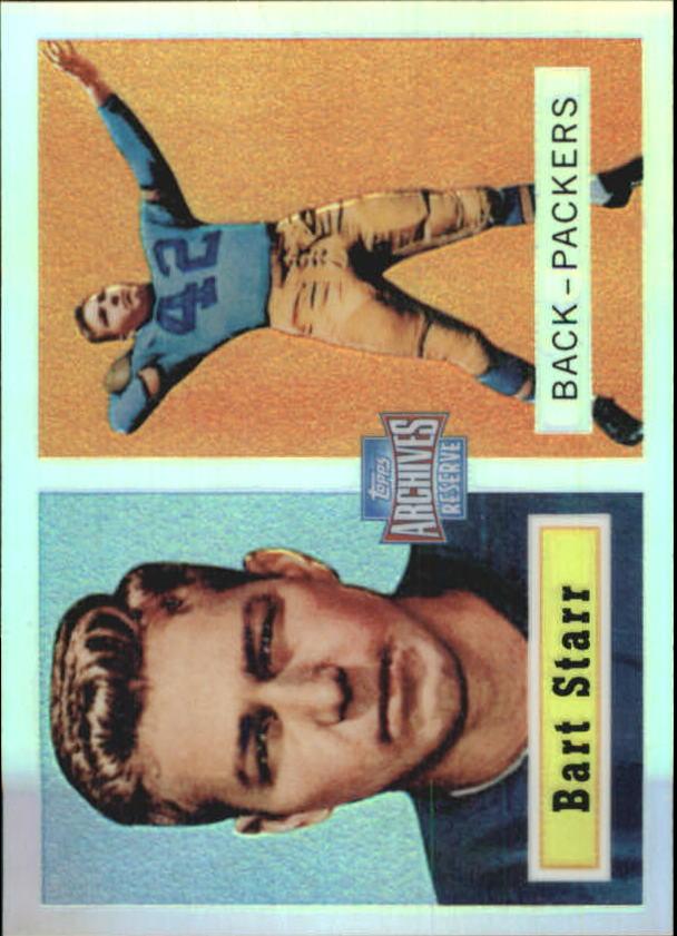 2001 Topps Archives Reserve #5 Bart Starr 57
