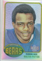 2001 Topps Archives Reserve #80 Walter Payton 76
