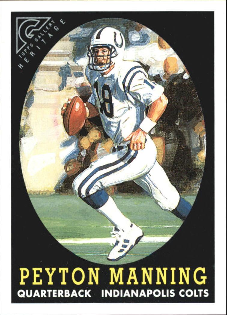 2001 Topps Gallery Heritage #GH7 Peyton Manning