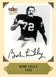 2001 Ultra College Greats Previews Autographs #20 Bob Lilly