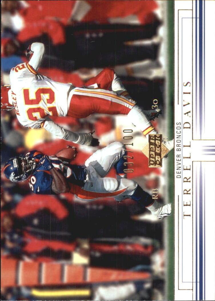 2001 Upper Deck Gold #52 Terrell Davis