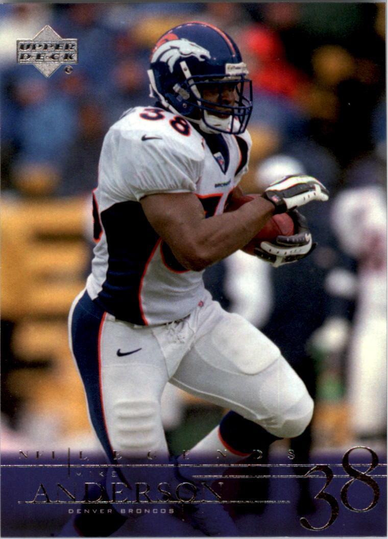2001 Upper Deck Legends #26 Mike Anderson