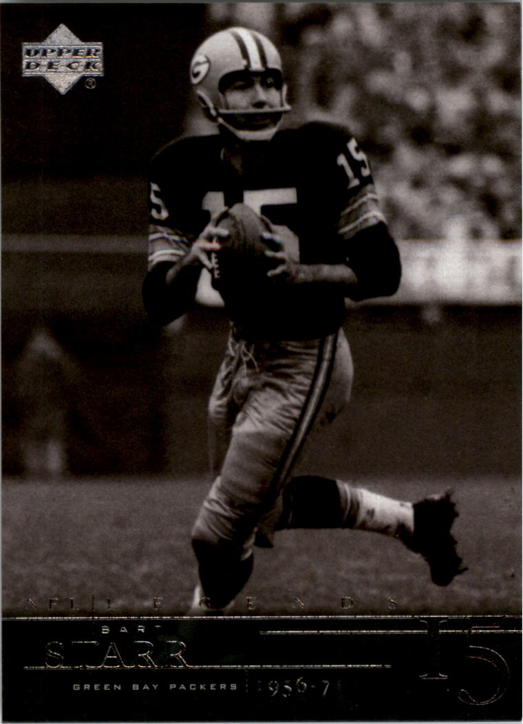 2001 Upper Deck Legends #30 Bart Starr