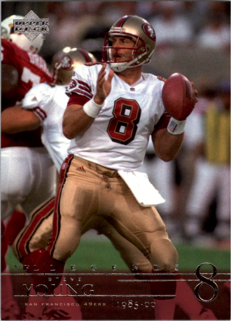 2001 Upper Deck Legends #78 Steve Young